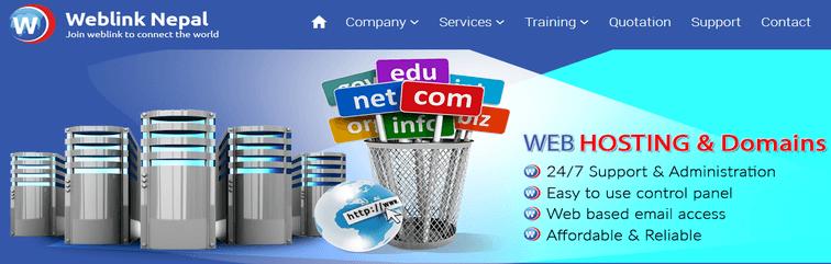 Weblink-Nepal